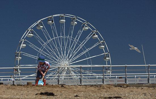 View of wheel at Beaumaris 2012