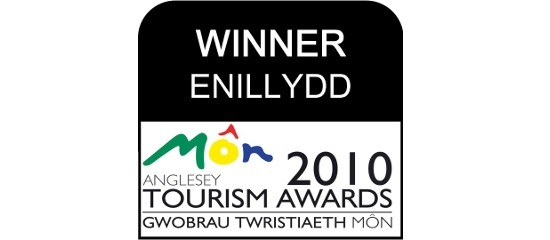 Anglesey Tourism Association award LOGO - Coed y Berclas Winner