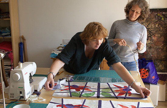 One to One workshop in quilting