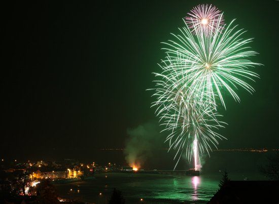 November 2009 Fireworks at Beaumaris