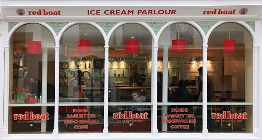 Red Boat Ice Cream Parlour, Beaumaris
