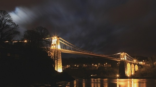 Telford's awesome suspension bridge
