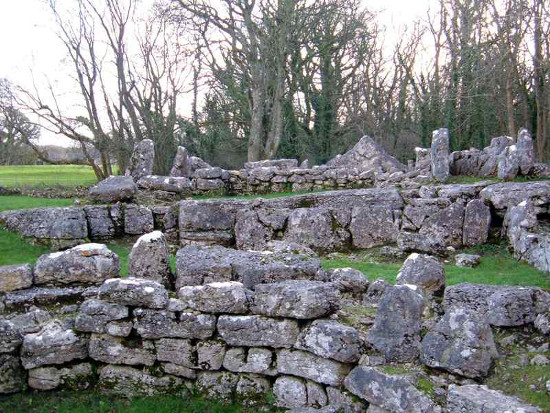 Din Lligwy settlement near Moelfre, Anglesey. Image: http://anglesey.info/