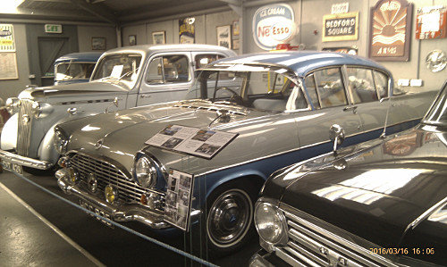 image of 'classic' vehicles in Tacla Taid museum