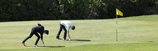Imaqge of Golfers at barron Hill Golf Club