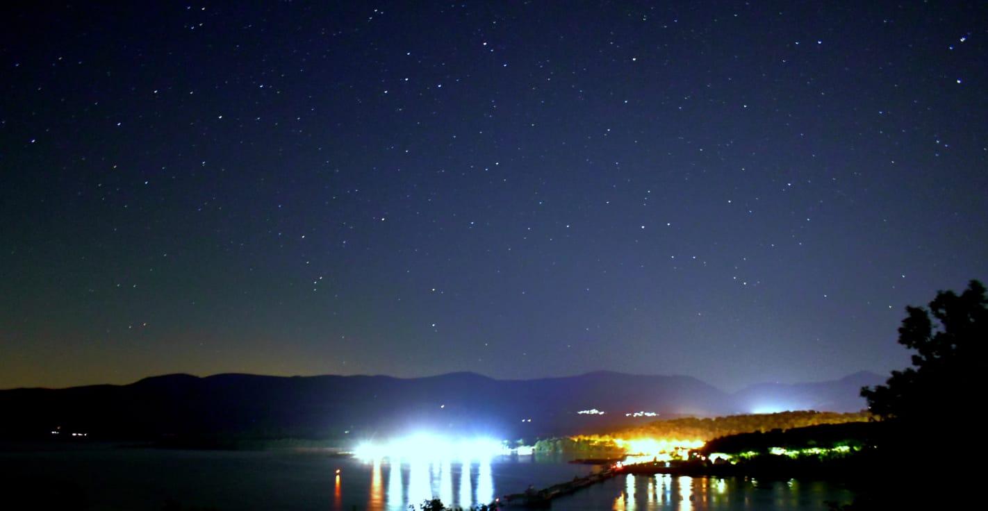Coed y Berclas starscape